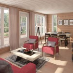 Cabins inside, livingroom